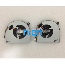 Acer AB07505HX070B0000CWH860 Notebook Cpu Fan (4 Pin - Sag ve Sol Fan)